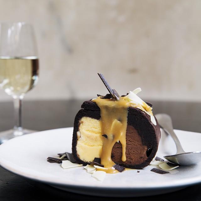 Chocolate & Hazelnut Arctic Roll