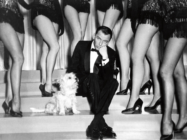 Sinatra, Frank - Singer, actor, USA - (*12.12.1915-14.05.1998+) Scene from t
