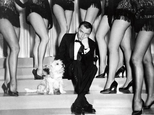 Sinatra, Frank - Singer, actor, USA - (*12.12.1915-14.05.1998+) Scene from t