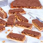 Készíts otthon csokit! – Karamelles-nugátos-mogyorós szelet