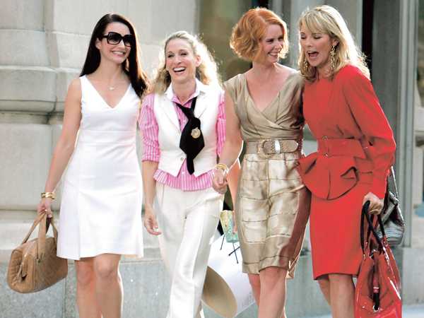 """On Location for """"Sex and the City: The Movie"""" - September 21, 2007"""