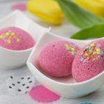 Húsvéti dekoráció saját kezűleg #3 – Tojás alakú fürdőgolyó