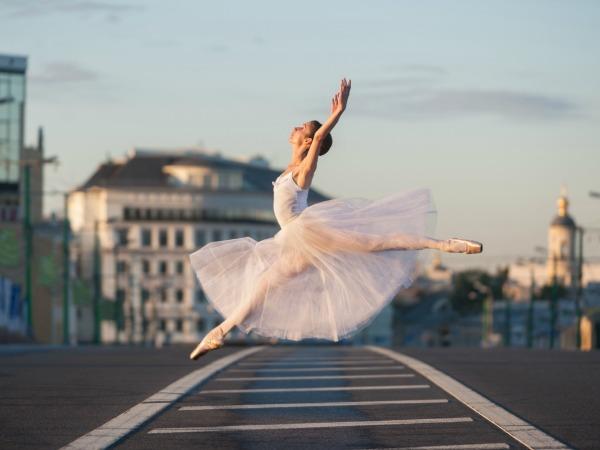 balettozó-nő