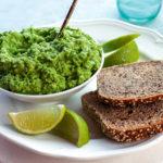 Fogyókúrás reggelihez: currys-csilis zöldborsókrém