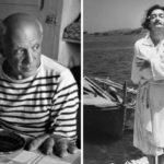 Így élt Picasso és Dalí: fotókon a világ legnagyobb festőművészeinek mindennapjai