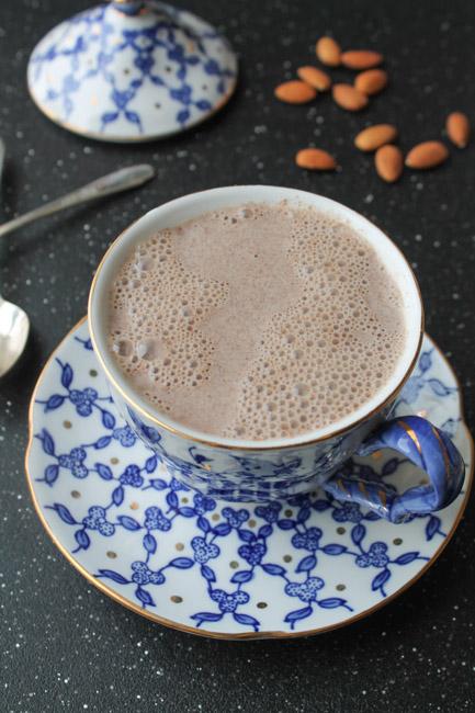 mandulás-vaníliás-tej
