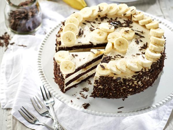 Výsledok vyhľadávania obrázkov pre dopyt Banán torta