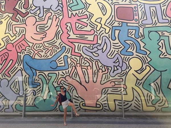 Tuttomondo_Keith_Haring_falfestménye_Pisa