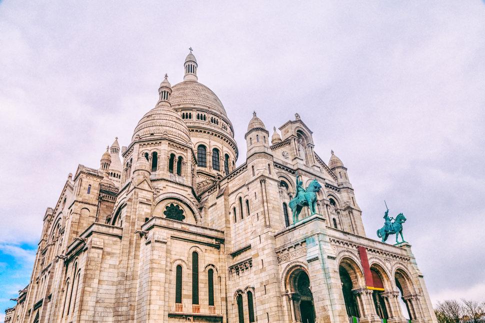 Basilica Sacré-Coeur in Paris, France.