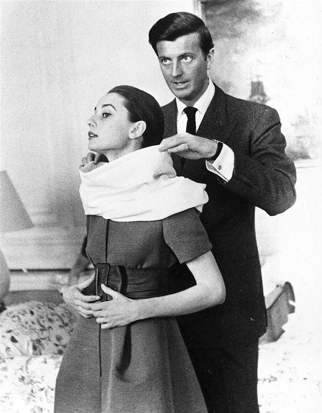 Audrey és Givenchy