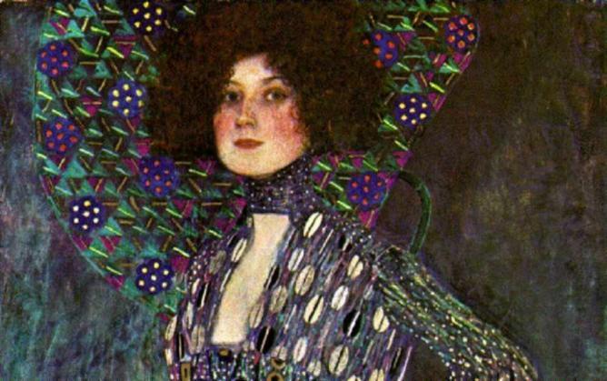 Gustav Klimt múzsája