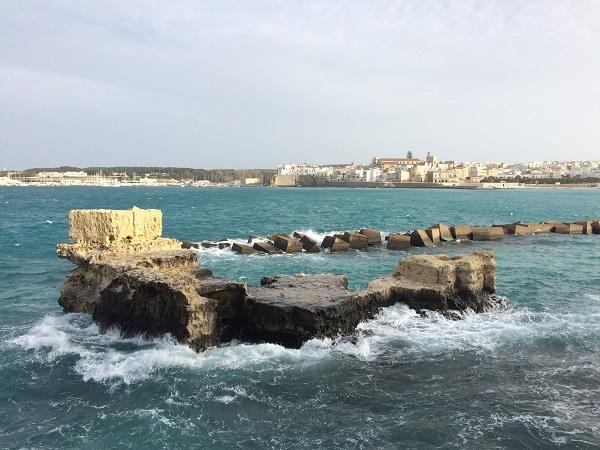 Otranto-fok a keleti parton