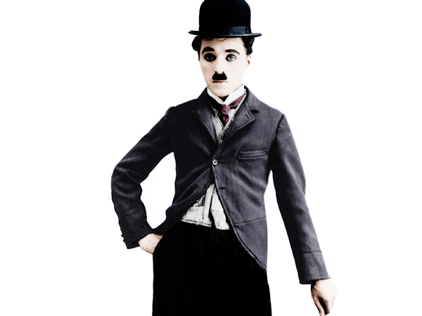 Charlie Chaplin as the 'Little Tramp' character, ca. 1925, Image: 148313455, License: Rights-managed, Restrictions: , Model Release: no, Credit line: Profimedia, Everett