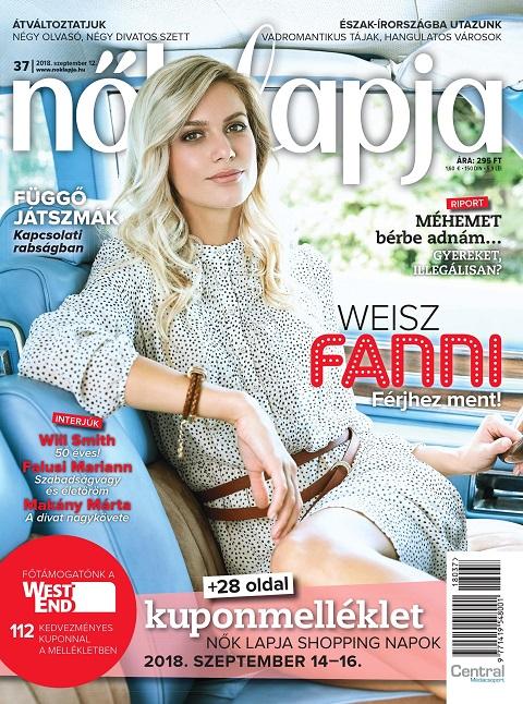 Weisz Fanni 2018/37.