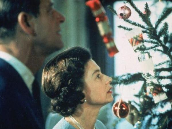 királyi család karácsony
