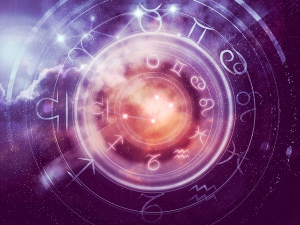 astrology zodiac signs. horoscope background