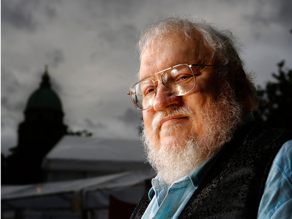 August 11, 2014 - Edinburgh, Scotland, United Kingdom: George RR Martin, author of Game of Thrones, is portrayed before speaking at the Edinburgh International Book Festival., Image: 206510320, License: Rights-managed, Restrictions: No publication in the United Kingdom, Model Release: no, Credit line: Profimedia, Polaris