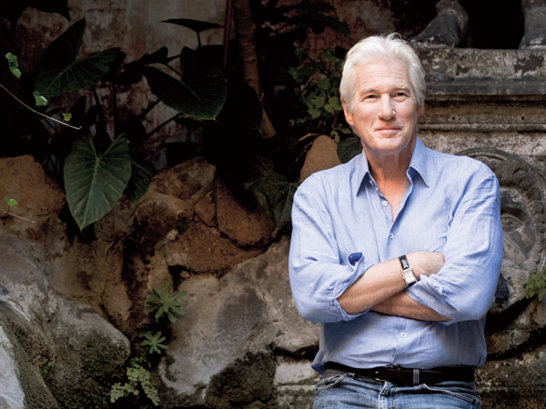 ROME, ITALY - SEPTEMBER 18: Richard Gere attends 'Norman: The Moderate Rise and Tragic Fall of a New York Fixer' photocall on September 18, 2017 in Rome, Italy. (Photo by Alessandra Benedetti - Corbis/Corbis via Getty Images)