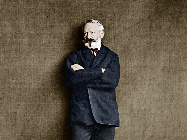 UNSPECIFIED - JUNE 10:  french writer Victor Hugo (1802-1885) here in 1860, photo by E. Bacot  (Photo by Apic/Getty Images)