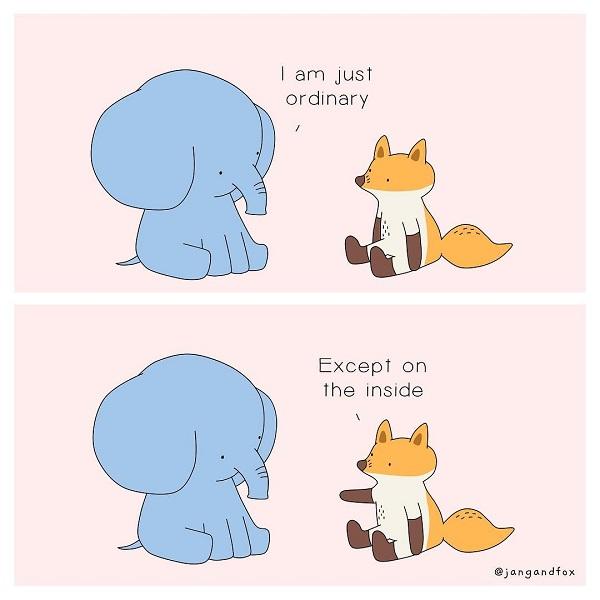 Kedves állatos illusztrációk hívják fel a figyelmet a